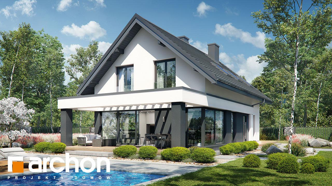 Проект будинку ARCHON+ Будинок в шишковиках 3