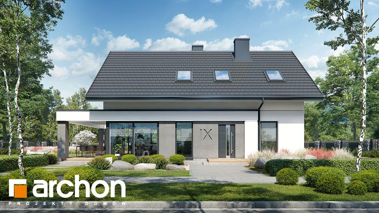Проект дома ARCHON+ Дом в шишковиках 3 стилизация 4