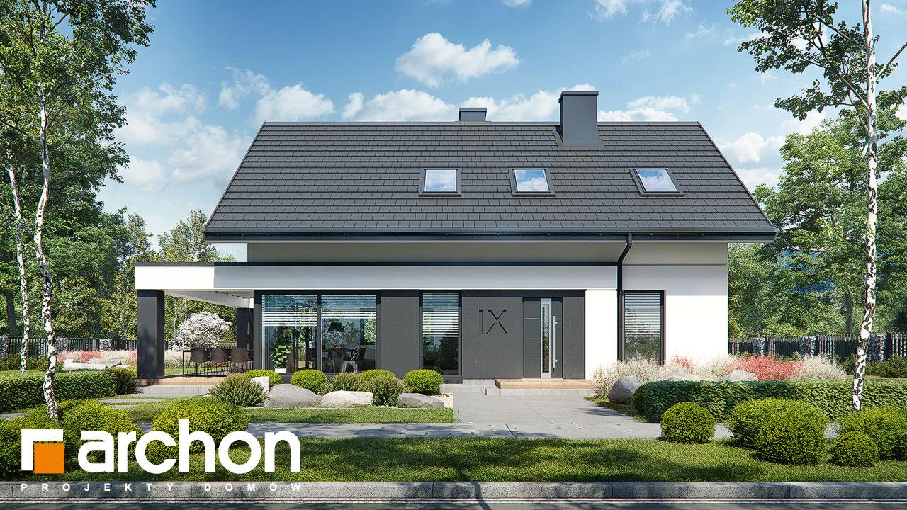 Проект будинку ARCHON+ Будинок в шишковиках 3 Вид 2