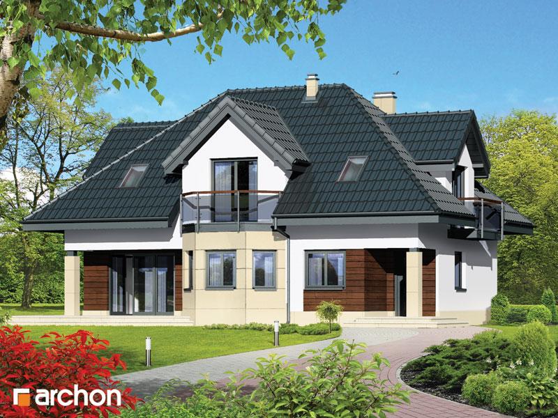 Проект будинку ARCHON+ Будинок в майорані (П) вер.2 стилізація 3