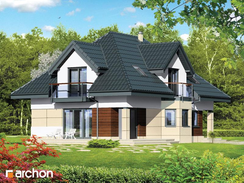 Проект будинку ARCHON+ Будинок в майорані (П) вер.2 стилізація 4