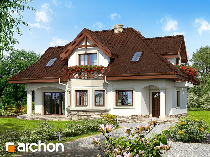 Проект будинку ARCHON+ Будинок в майорані (П) вер.2 Вид 1