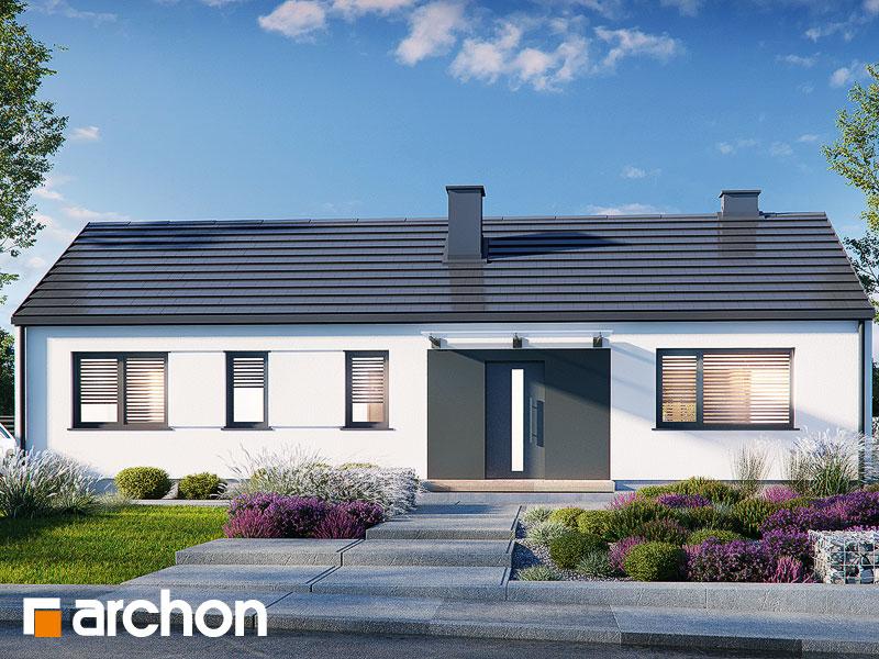 Проект будинку ARCHON+ Будинок в ірисах 2 (Н) Вид 2