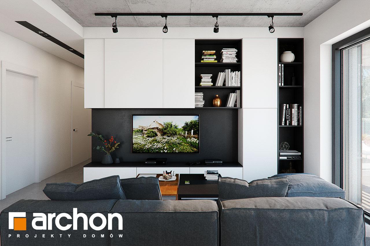 Проект будинку ARCHON+ Будинок в ірисах 2 (Н) денна зона (візуалізація 1 від 1)