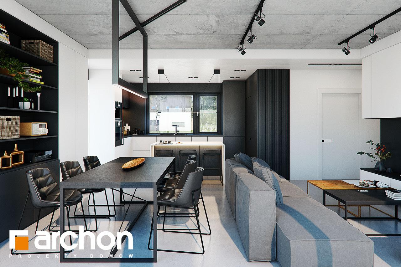 Проект будинку ARCHON+ Будинок в ірисах 2 (Н) денна зона (візуалізація 1 від 3)