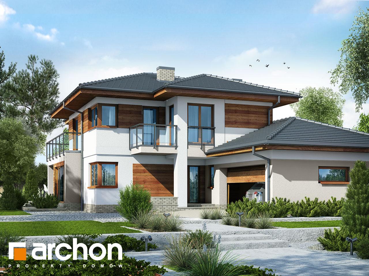 Проект будинку ARCHON+ Вілла Еліза 3 Вид 2
