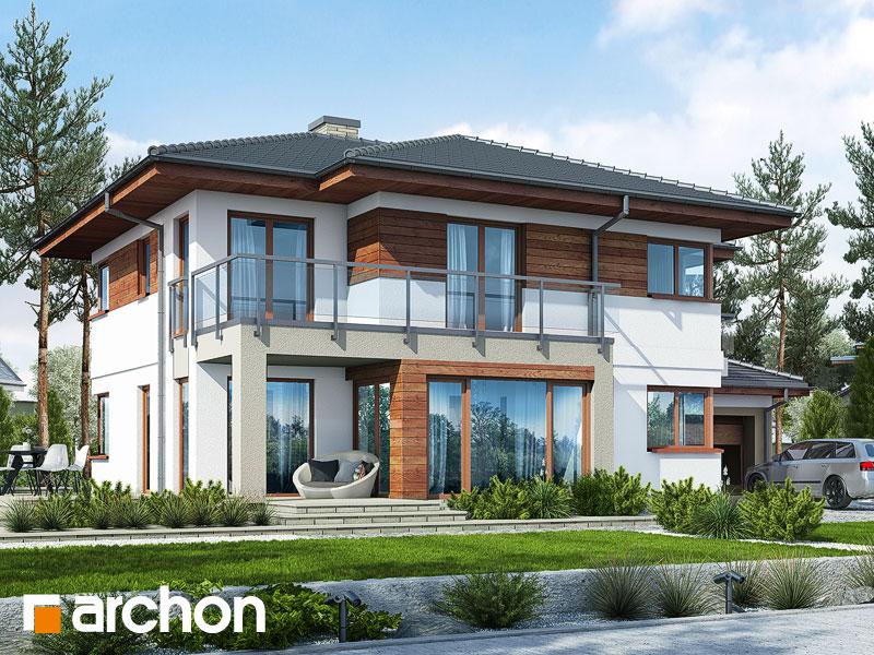 Проект будинку ARCHON+ Вілла Еліза 3 Вид 1