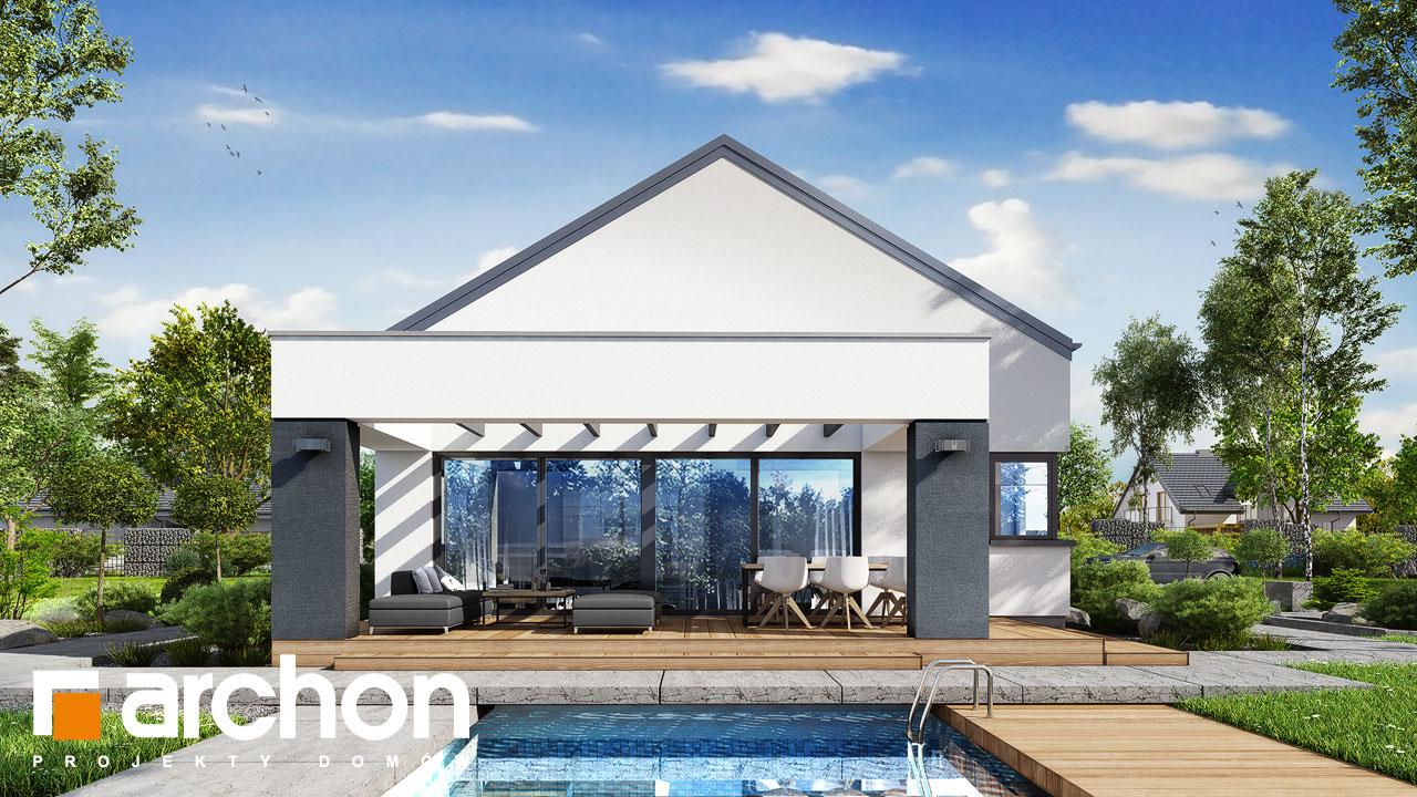 Проект будинку ARCHON+ Будинок в пепероміях 5 (Г2) стилізація 3