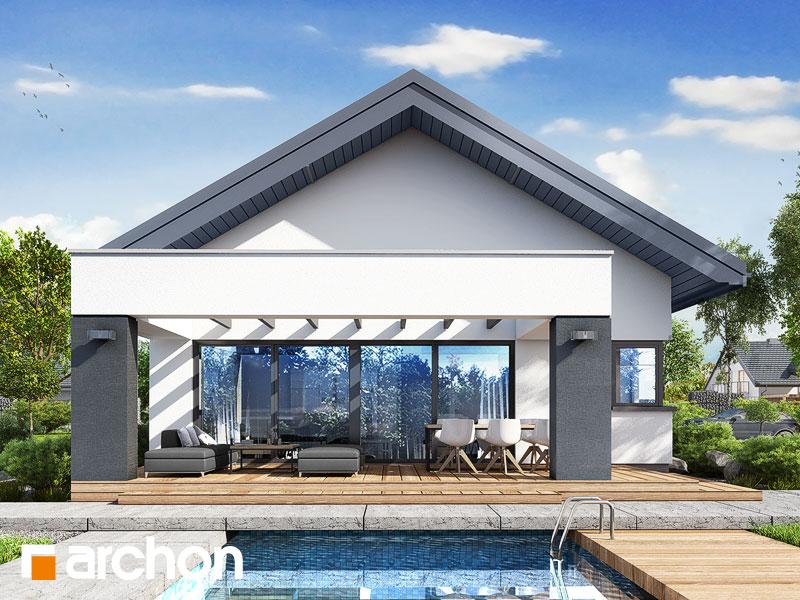 Проект будинку ARCHON+ Будинок в пепероміях 5 (Г2) Вид 1