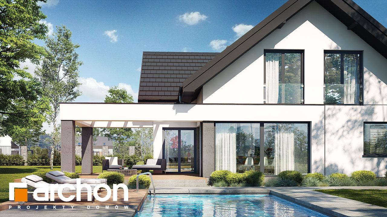 Проект будинку ARCHON+ Будинок у феліціях 3 (Г2) додаткова візуалізація