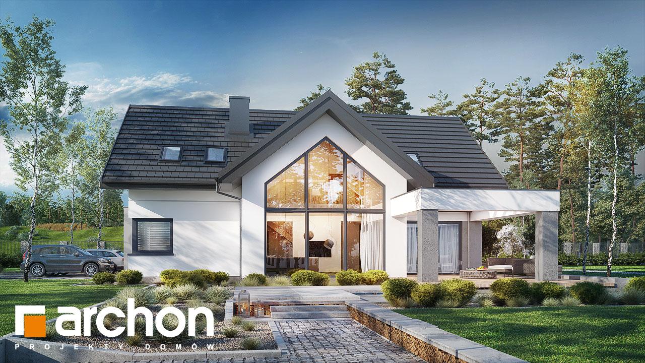 Проект будинку ARCHON+ Будинок у феліціях 3 (Г2) Вид 2