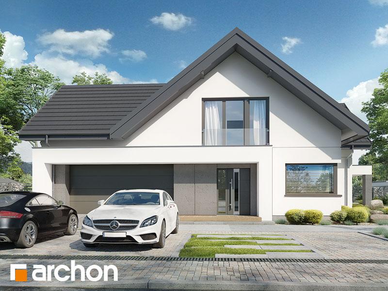 Проект будинку ARCHON+ Будинок у феліціях 3 (Г2) Вид 1