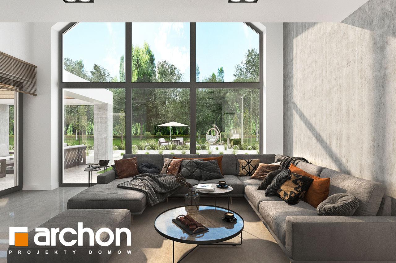 Проект будинку ARCHON+ Будинок у феліціях 3 (Г2) денна зона (візуалізація 1 від 5)