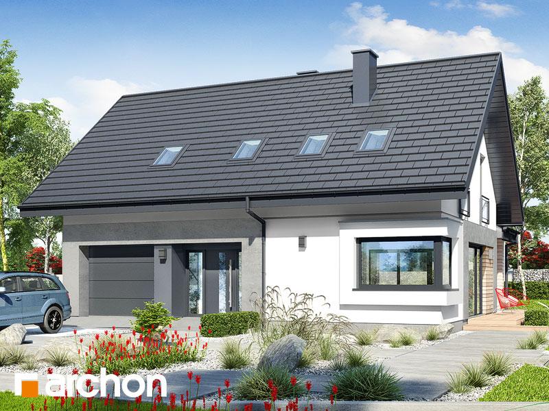 Проект дома ARCHON+ Дом в малиновках 9 (Г) Вид 1