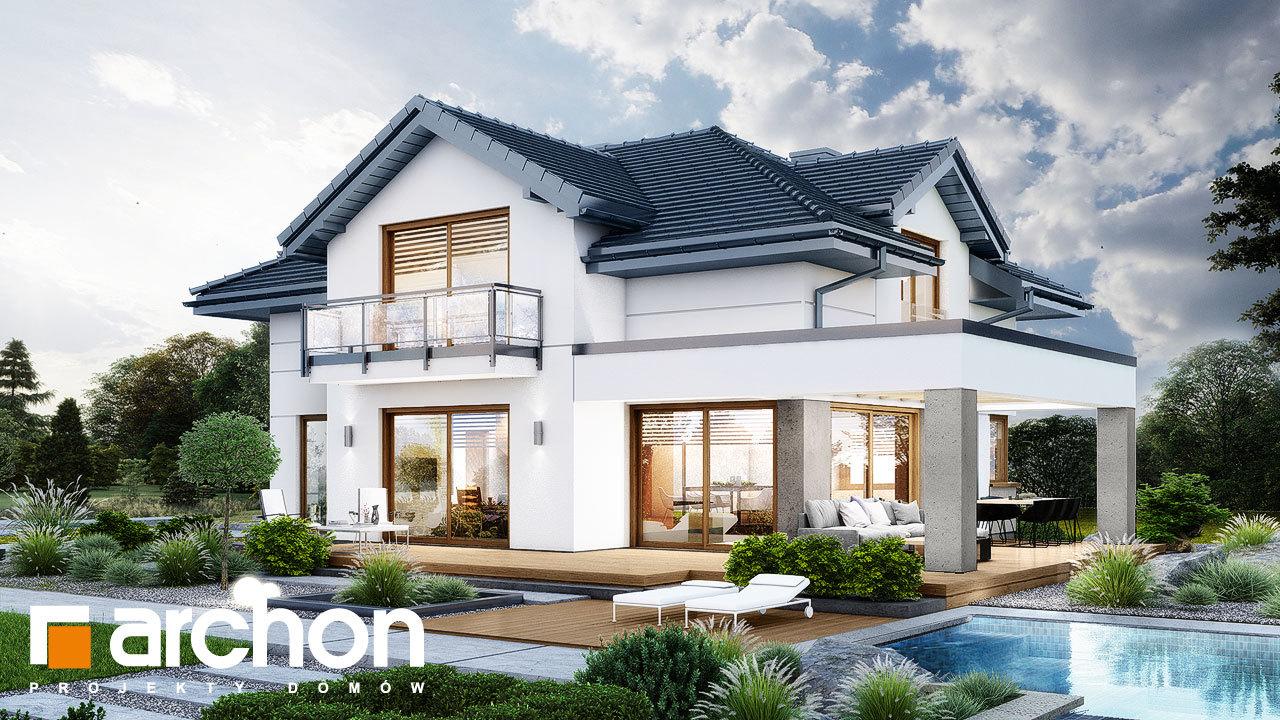 Проект будинку ARCHON+ Вілла Міранда 14 (Г)