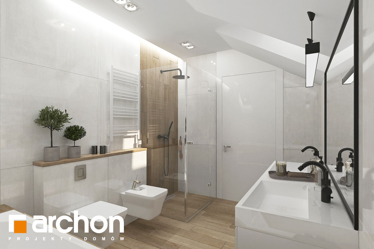 Проект будинку ARCHON+ Вілла Міранда 14 (Г) візуалізація ванни (візуалізація 3 від 1)