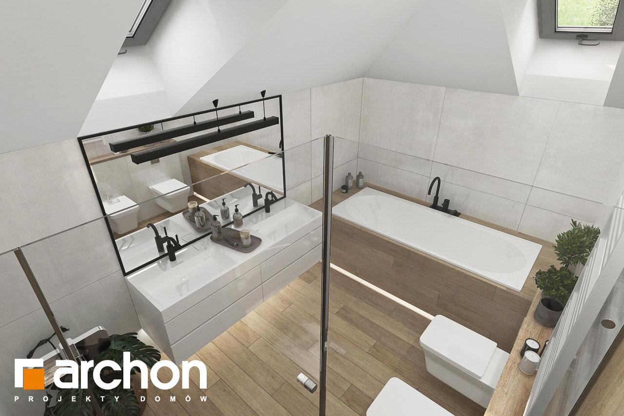 Проект будинку ARCHON+ Вілла Міранда 14 (Г) візуалізація ванни (візуалізація 3 від 3)