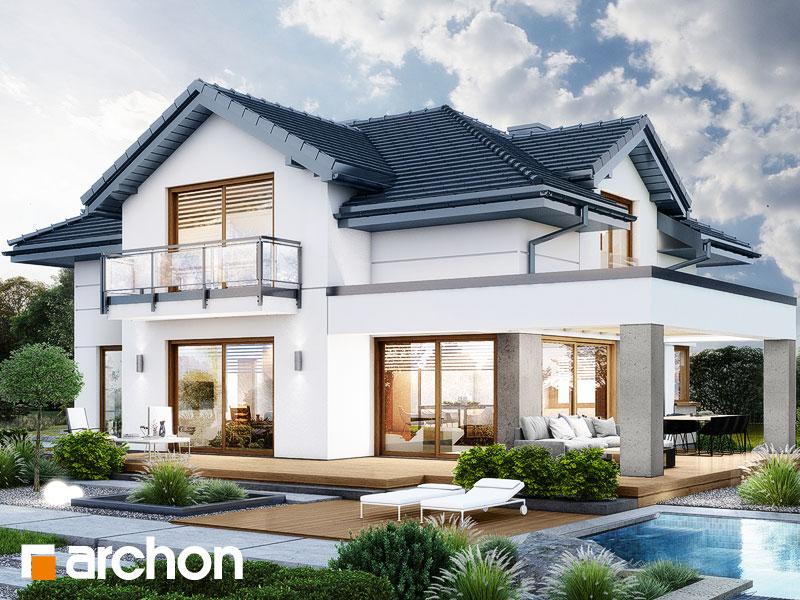 Проект будинку ARCHON+ Вілла Міранда 14 (Г) Вид 1