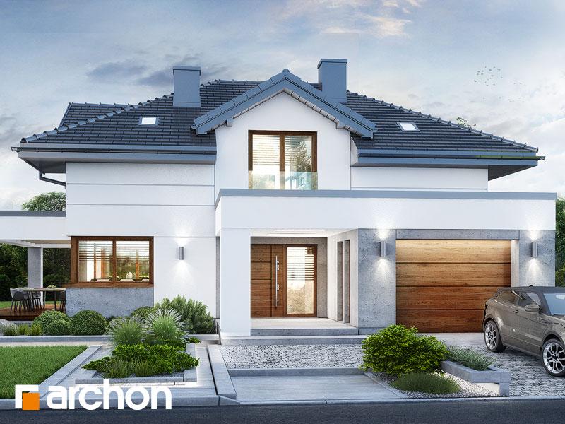 Проект будинку ARCHON+ Вілла Міранда 14 (Г) Вид 2