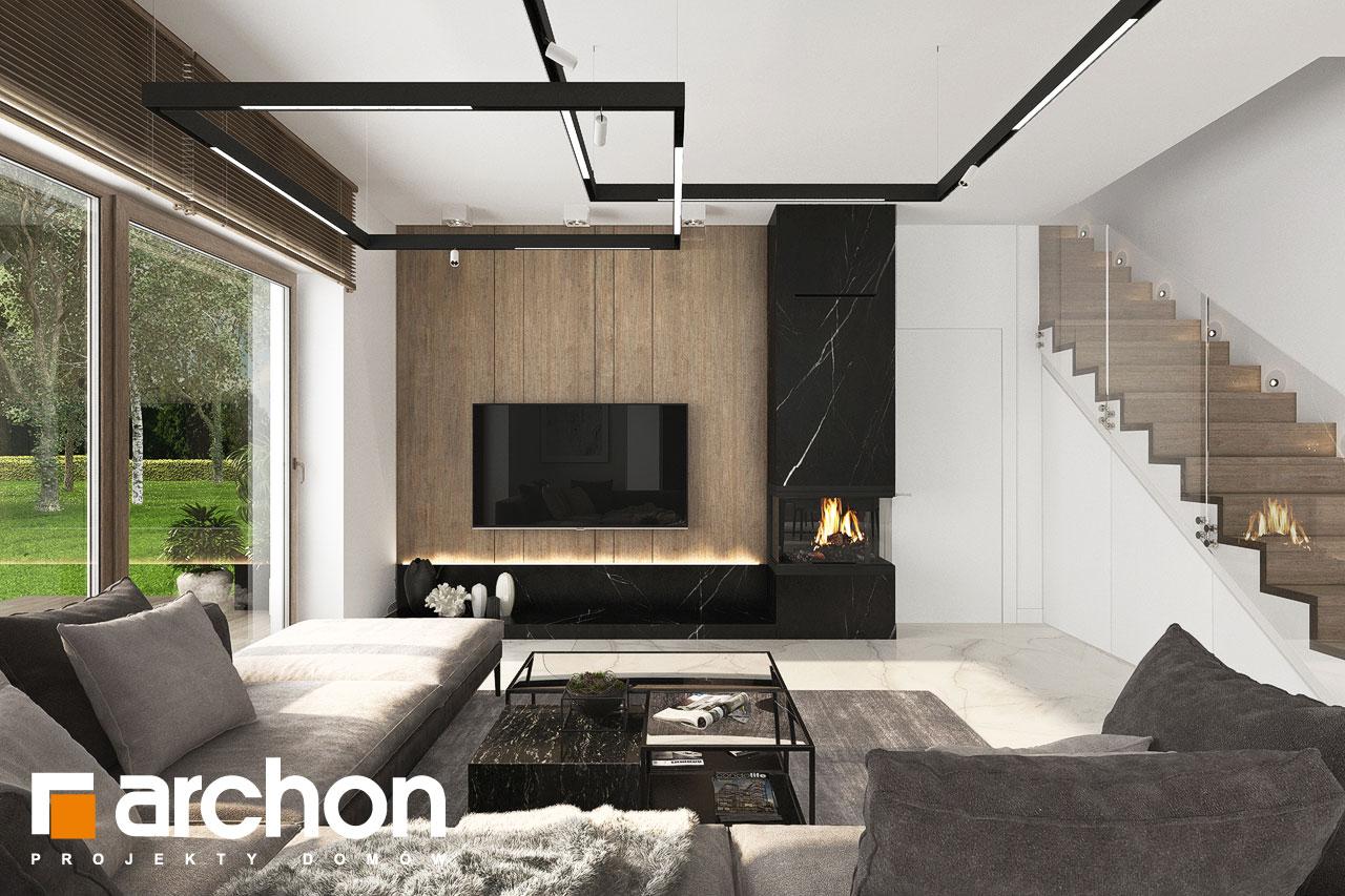 Проект будинку ARCHON+ Вілла Міранда 14 (Г) денна зона (візуалізація 1 від 1)