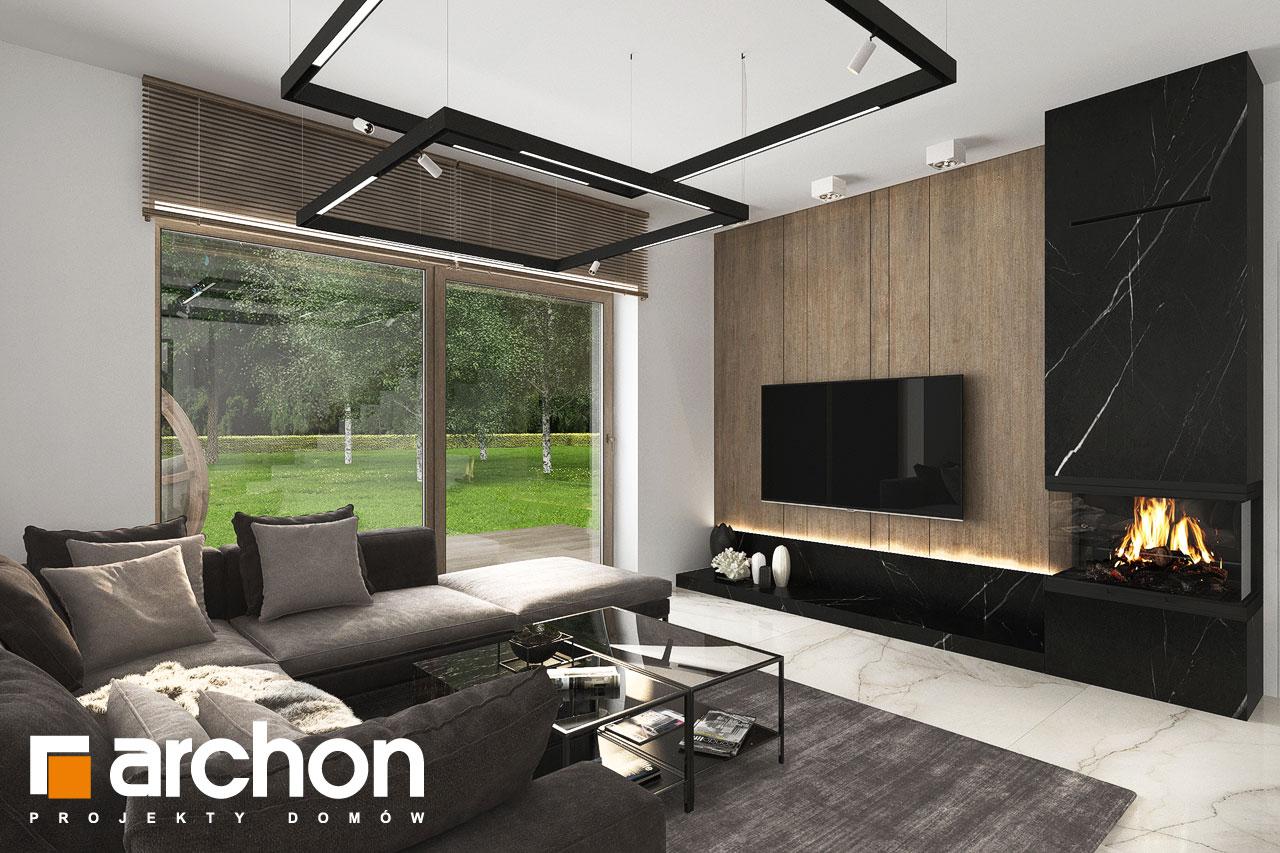 Проект будинку ARCHON+ Вілла Міранда 14 (Г) денна зона (візуалізація 1 від 3)