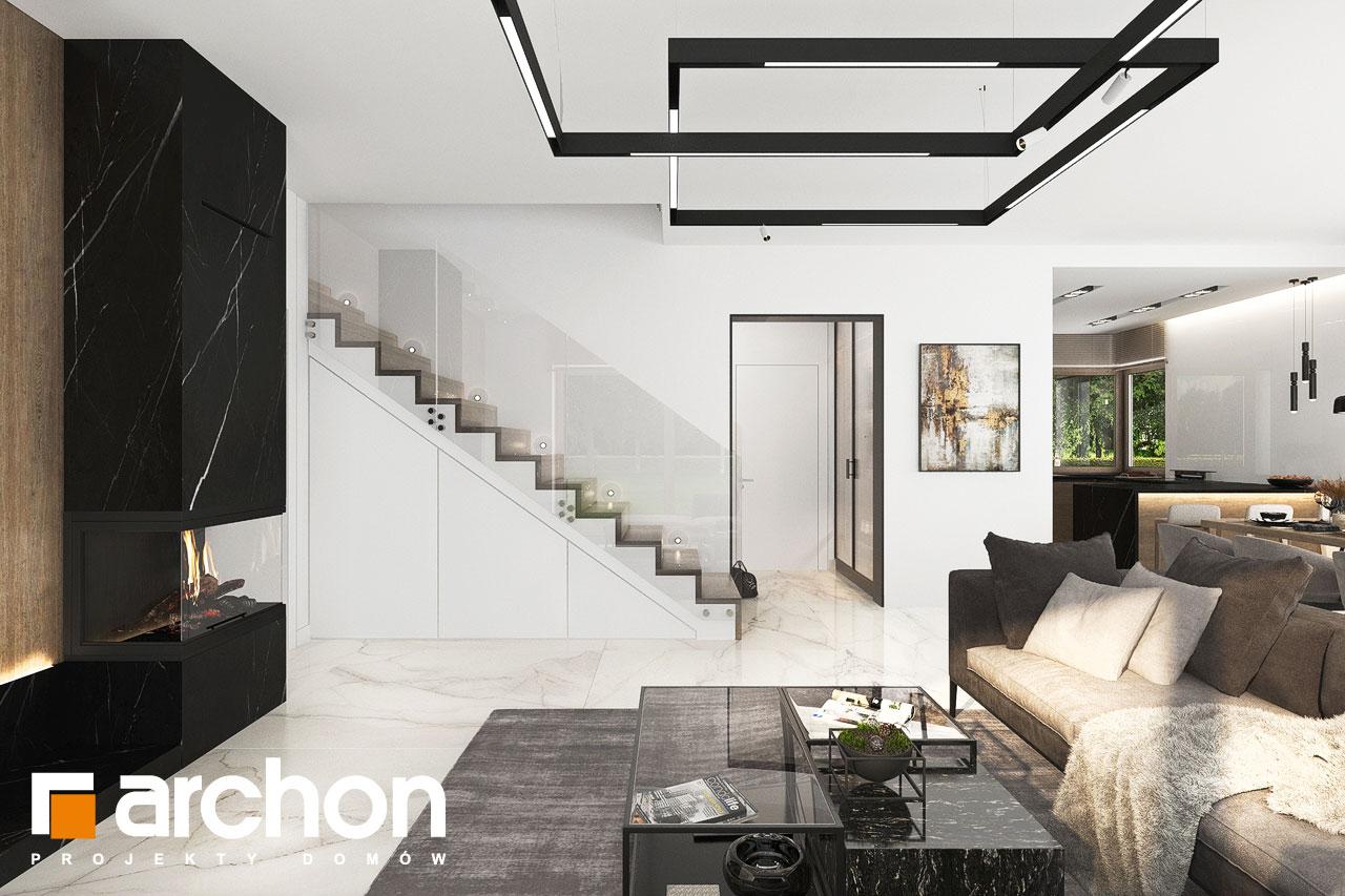Проект будинку ARCHON+ Вілла Міранда 14 (Г) денна зона (візуалізація 1 від 4)
