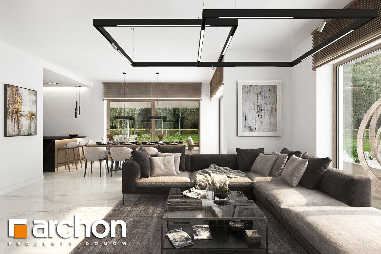 Проект будинку ARCHON+ Вілла Міранда 14 (Г) денна зона (візуалізація 1 від 5)