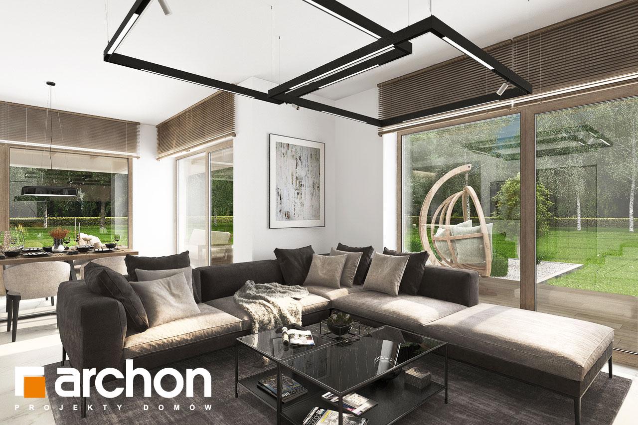 Проект будинку ARCHON+ Вілла Міранда 14 (Г) денна зона (візуалізація 1 від 6)