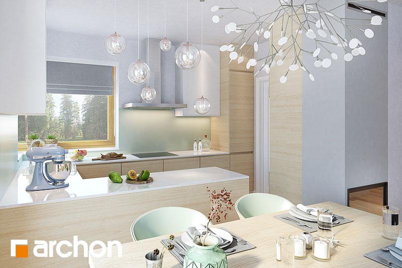 Проект будинку ARCHON+ Будинок в яблонках 9 візуалізація кухні 1 від 1