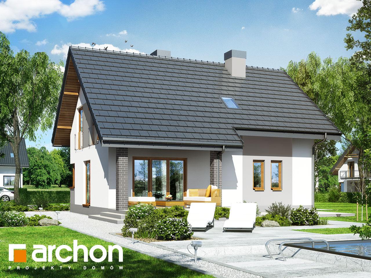 Проект будинку ARCHON+ Будинок в яблонках 9 стилізація 4