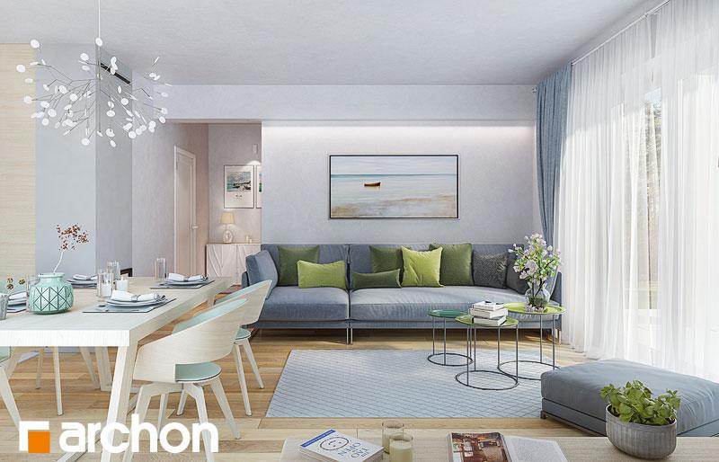 Проект будинку ARCHON+ Будинок в яблонках 9 денна зона (візуалізація 1 від 1)
