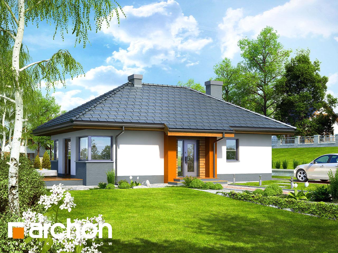 Проект будинку ARCHON+ Будинок в маївках вер. 2