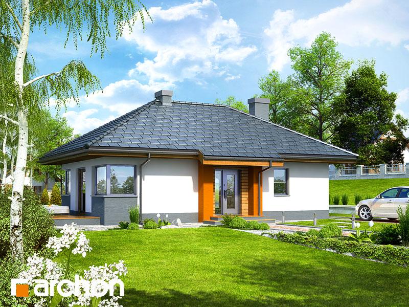 Проект будинку ARCHON+ Будинок в маївках вер. 2 Вид 1