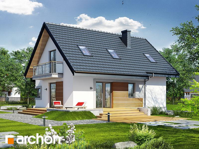 Проект будинку ARCHON+ Будинок в портулаках ver.3 стилізація 4