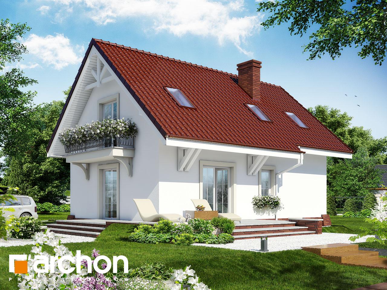 Проект будинку ARCHON+ Будинок в портулаках ver.3 Вид 2