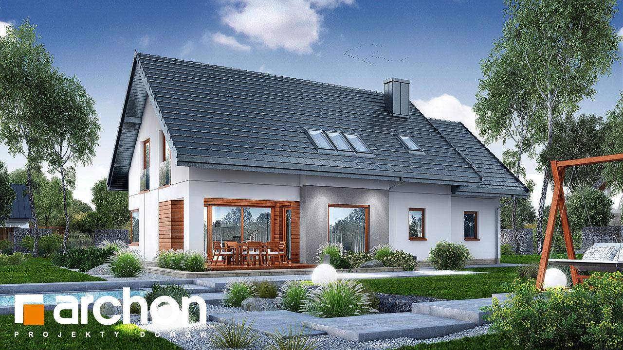 Проект дома ARCHON+ Дом в афасках Вид 2