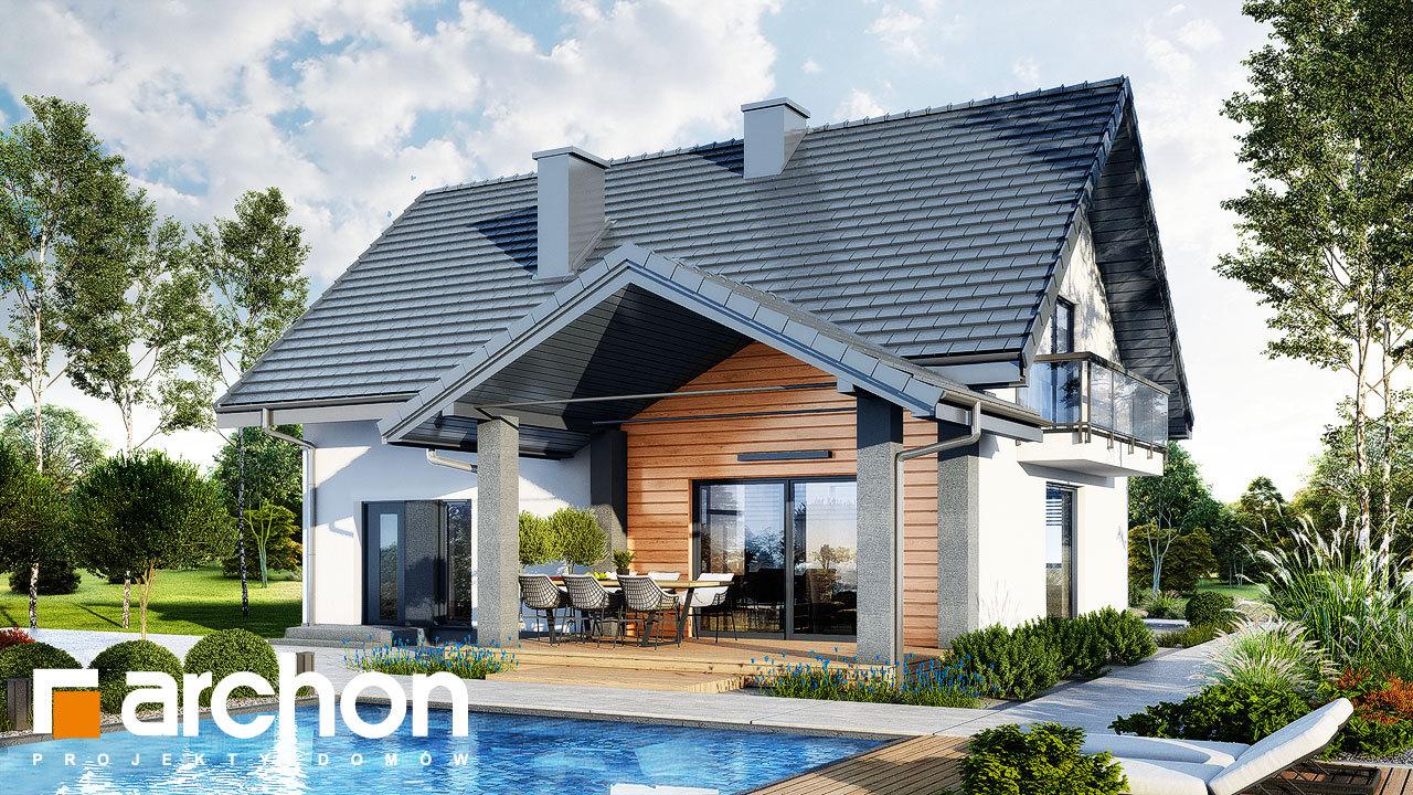 Проект будинку ARCHON+ Будинок в люцерні 11