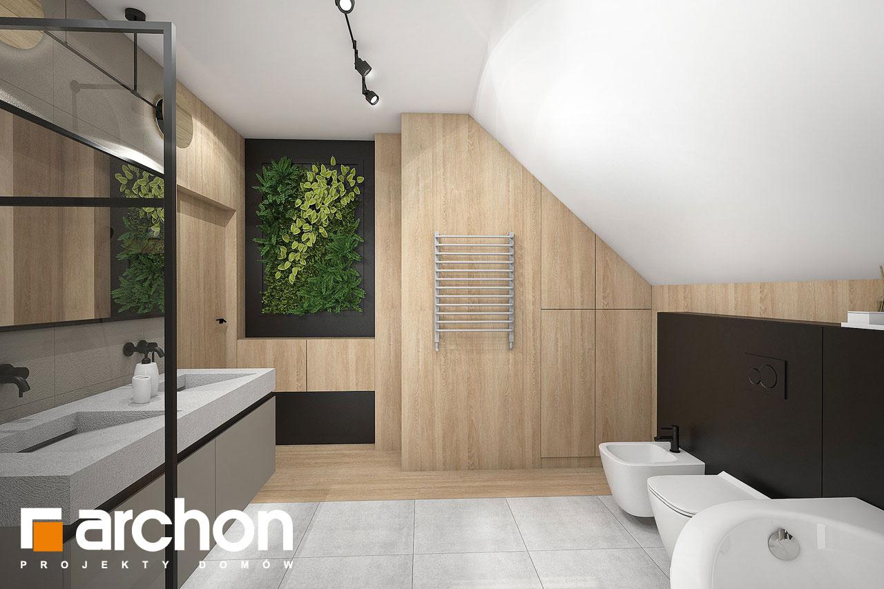 Проект будинку ARCHON+ Будинок в люцерні 11 візуалізація ванни (візуалізація 3 від 3)