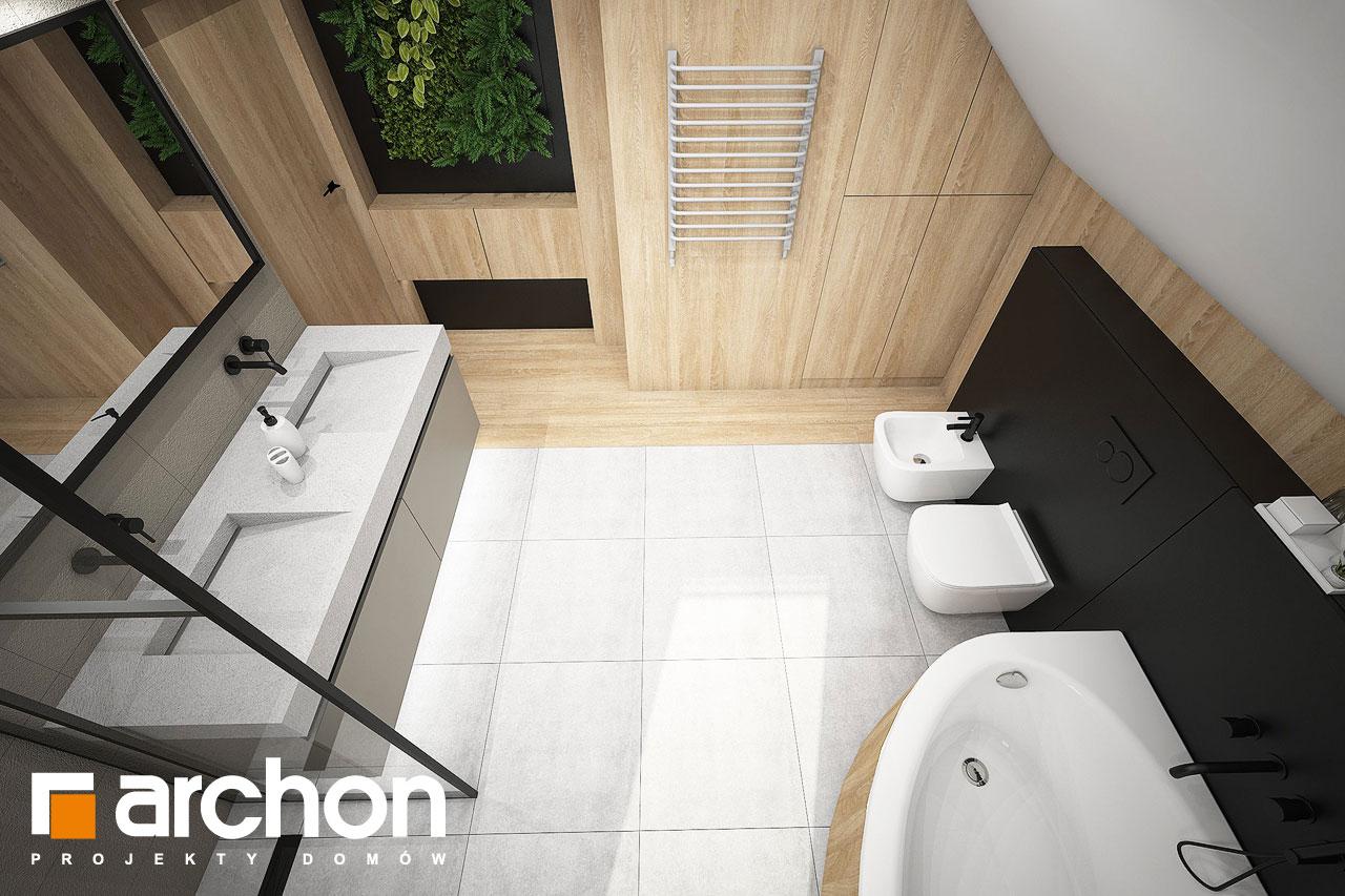 Проект будинку ARCHON+ Будинок в люцерні 11 візуалізація ванни (візуалізація 3 від 4)
