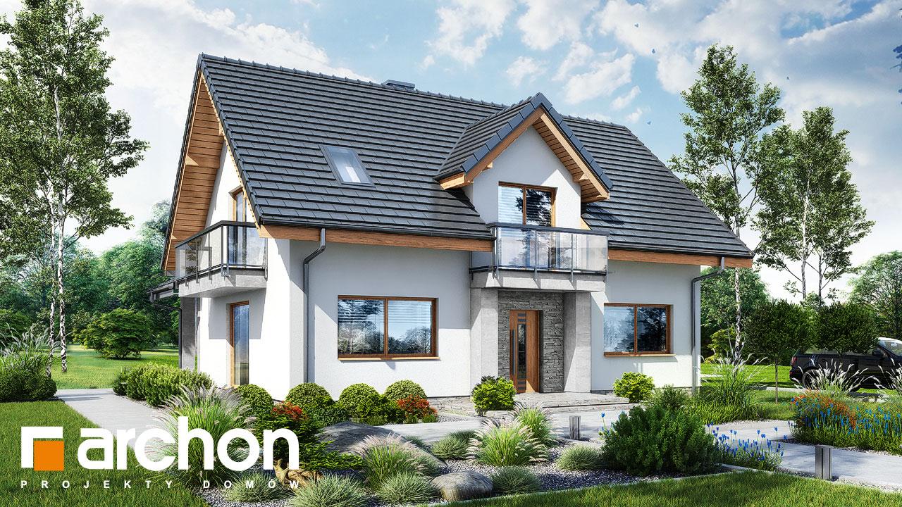 Проект будинку ARCHON+ Будинок в люцерні 11 стилізація 3