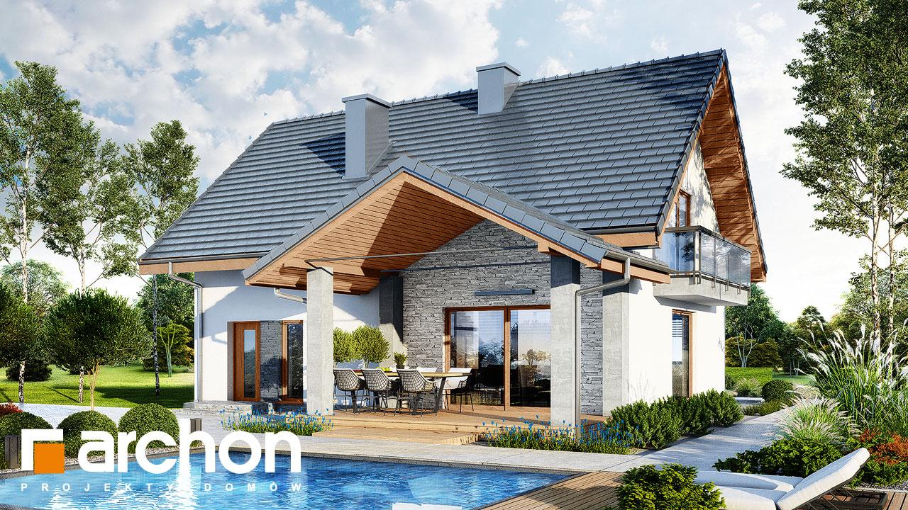Проект будинку ARCHON+ Будинок в люцерні 11 стилізація 4