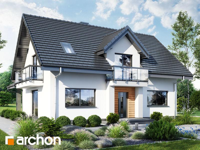 Проект будинку ARCHON+ Будинок в люцерні 11 Вид 1