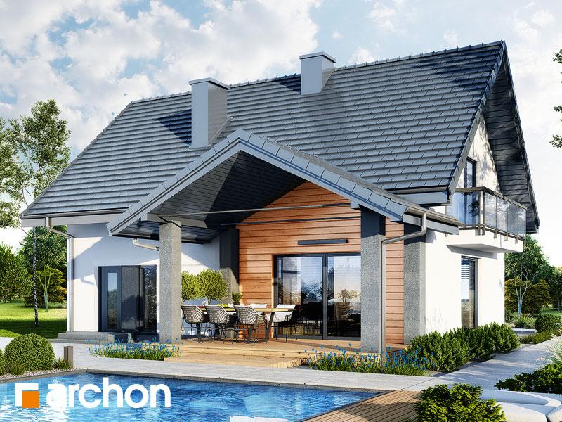 Проект будинку ARCHON+ Будинок в люцерні 11 Вид 2