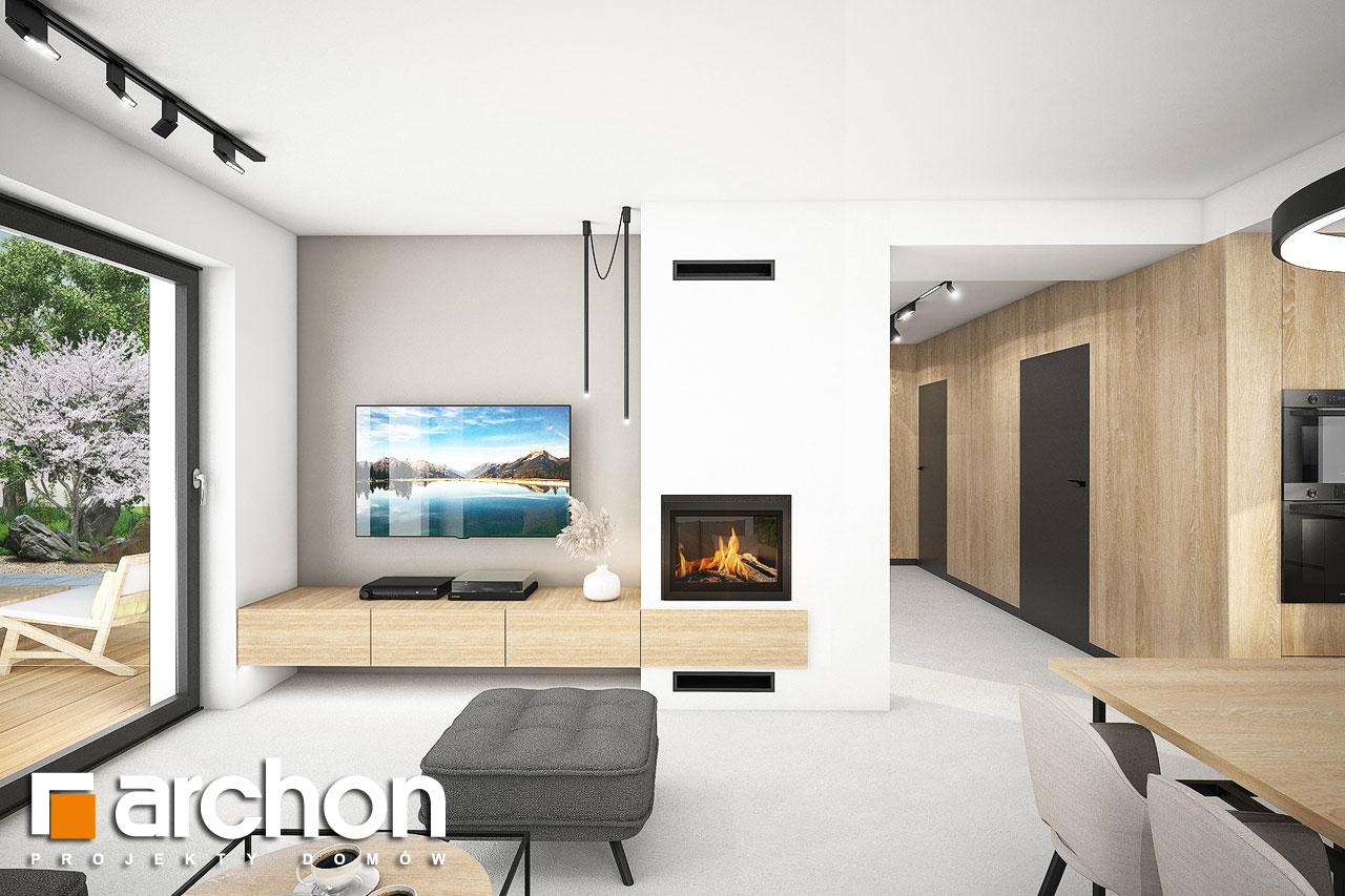 Проект будинку ARCHON+ Будинок в люцерні 11 денна зона (візуалізація 1 від 1)