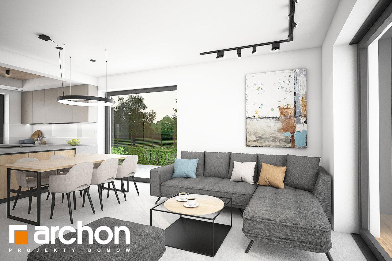 Проект будинку ARCHON+ Будинок в люцерні 11 денна зона (візуалізація 1 від 5)