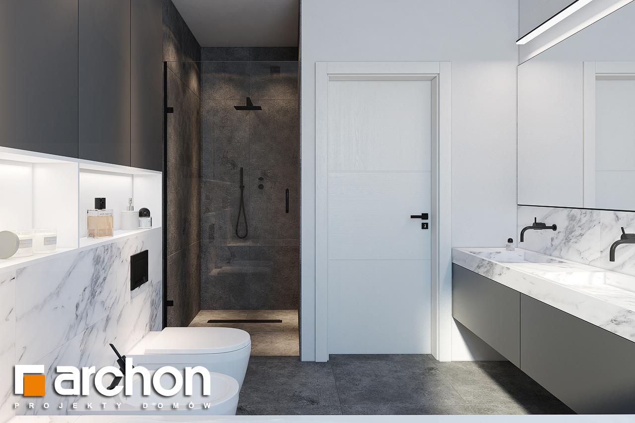 Проект будинку ARCHON+ Будинок в ренклодах 2 (Г2) візуалізація ванни (візуалізація 3 від 3)