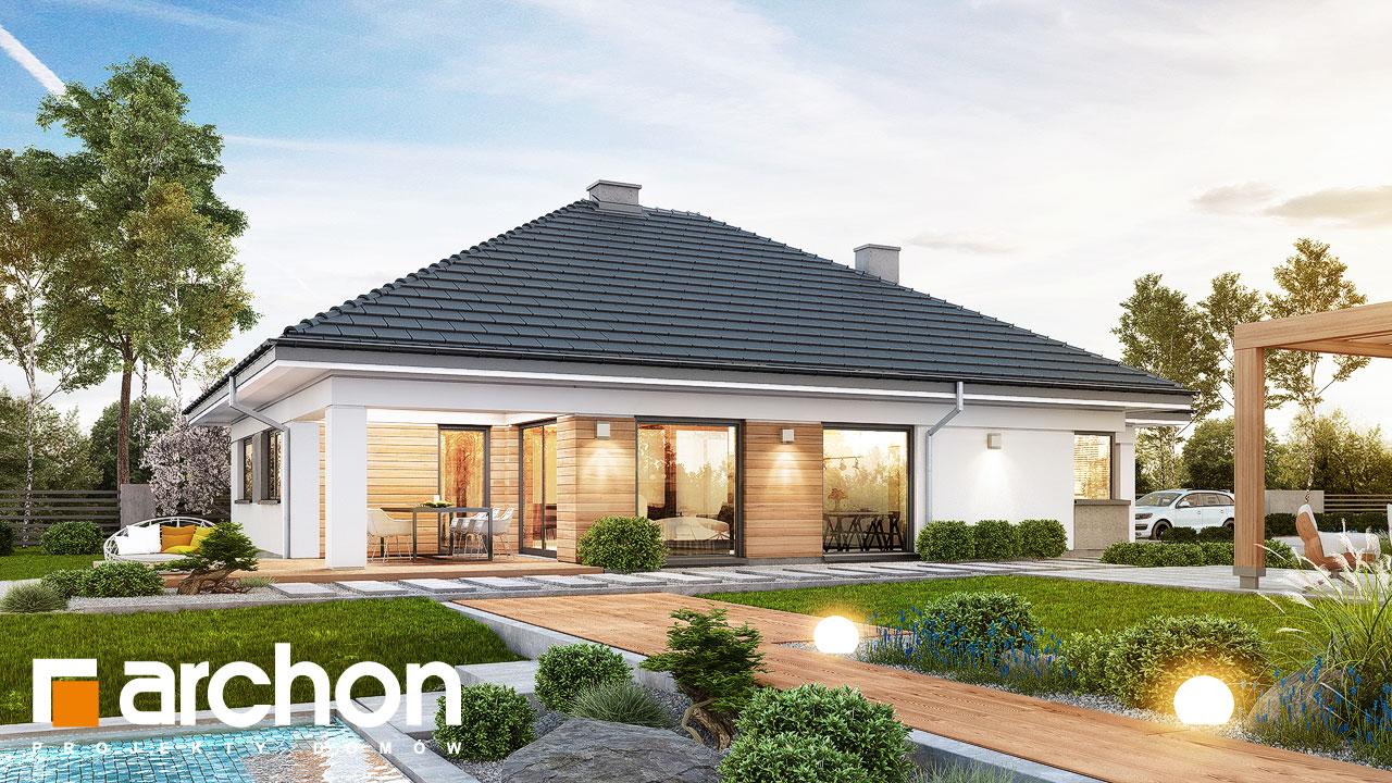 Проект будинку ARCHON+ Будинок в ренклодах 2 (Г2) Вид 2