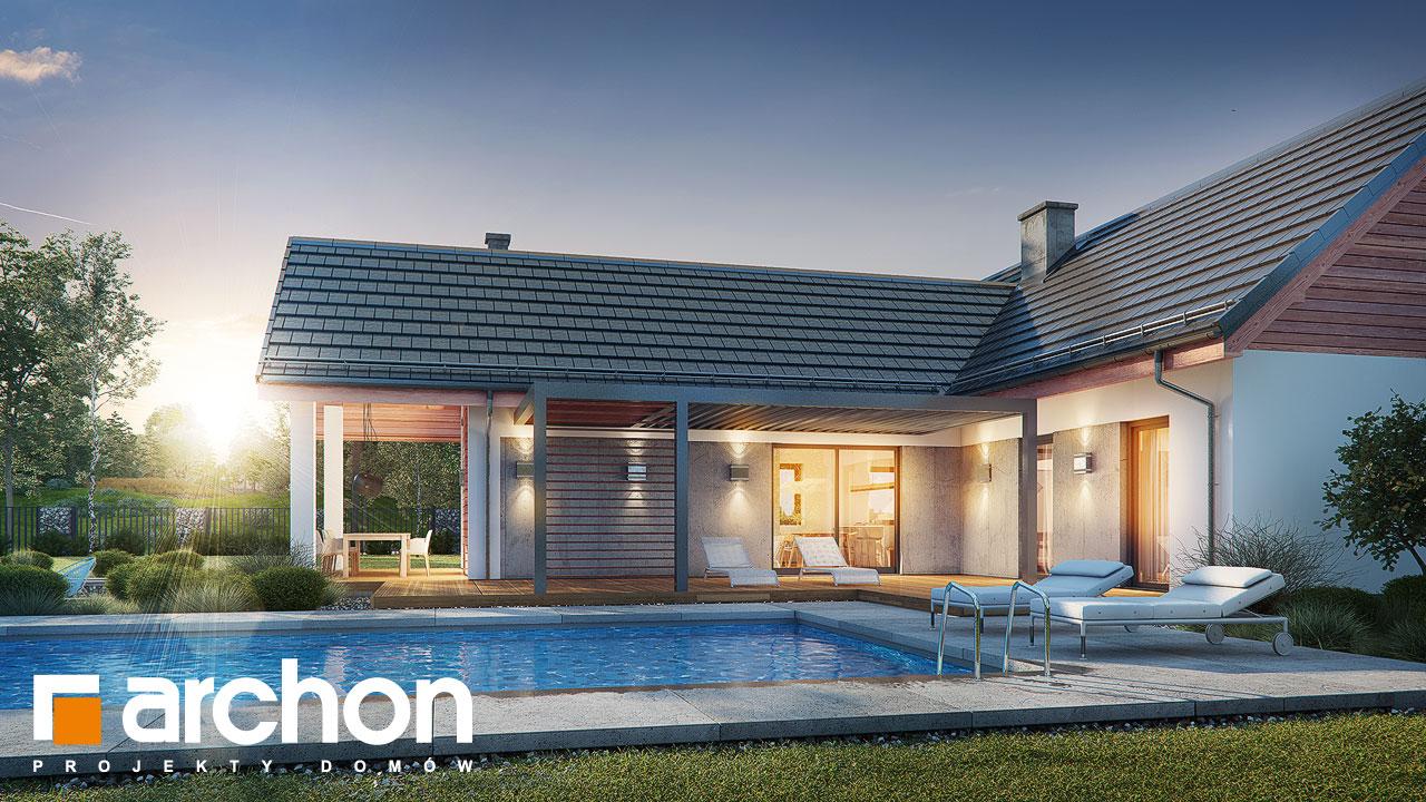 Проект будинку ARCHON+ Будинок в мажанках 2 додаткова візуалізація