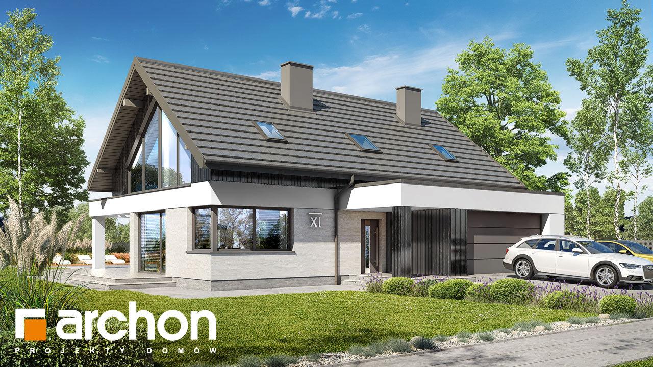 Проект будинку ARCHON+ Будинок в дабеціях 3 (Г2)