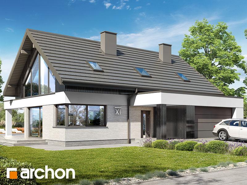 Проект будинку ARCHON+ Будинок в дабеціях 3 (Г2) Вид 1
